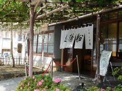 亀戸天神社に参拝後、 こちらのお店で「葛餅」を持ち帰りで購入しました。 店頭には藤棚があり、とても雰囲気の良いお店でした。