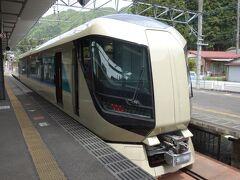 特急リバティに乗り湯西川温泉駅まで行く。