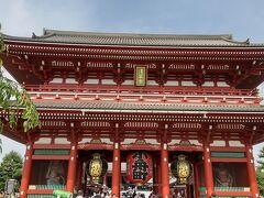 初のGOTOトラベルで浅草に泊まりました。  浅草と言えば雷門、浅草寺。