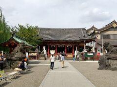 浅草寺に参拝したら、浅草神社の参拝も。