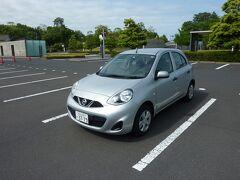 前回その1の続き。 伊丹空港からJ-AIRで出雲縁結び空港に到着後、日産レンタカーの店舗に移動してレンタカーを借りて島根県立古代出雲歴史博物館の駐車場に駐めました。