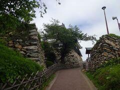 浜松城にやってきました。  この浜松城は野面積みの石垣で有名だそうです。  さて、徳川家康が駿府城に移ったあとの浜松城は、代々の徳川家とゆかりの濃い譜代大名が守りました。  歴代城主の中には幕府の要職に登用された者も多いことから、浜松城はのちに「出世城」と呼ばれるようになりました。  どのくらい出世したのかというと、老中5人、大坂城代2人、京都所司代2人がこの浜松城主を経た後に就任しています。  いわゆる出世コースがこの浜松城主だったのか?  今の「忖度官僚」なら喜んで浜松に来たことでしょう(笑)