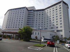 さて浜松ガーデンパークでのんびりした後はーー。  今日のお宿、The Hamanako  ダイワロイネットホテルにチェックインします。  かなり大きなホテルです!