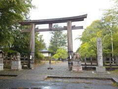 歩いて吉野神宮に行きました
