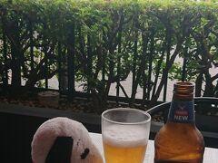 昼間からビール飲む楽しさ😁
