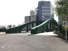 柳橋。神田川最下流の橋。 これも震災復興橋。 中央区民文化財として中央区に登録されている。