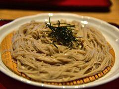 新薬師寺から、東大寺へ 東大寺参道の東京庵本店で昼食を 口コミの評価は低かったのですが、 この蕎麦、結構美味しかったです。