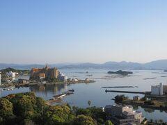 朝、ホテルの窓からの景色を撮影しました。二日目も夏日です。
