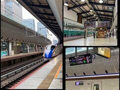 5月15日(Sat)  おはようございます。 早いなんてもんじゃない!只今軽井沢へ行くため6:52東京発の新幹線を待っているところ。 新幹線なんて乗るのも超久しぶりだ。京都へ行ってはいるがいつも夜行バスなもんで(笑)だって東海LINEはちっとも値引きないんだもん高くて。その点、上越・北陸LINEはえきねっとで35%引き(要会員登録)にもなるんだ♪WEBでちゃんと予約しておいた。東京⇔軽井沢7540円 SUICAと連携させておけばチケットレスなんて便利だわぁ~こういうのはアンテナはってないと浦島太郎状態になってしまう(爆)  えきねっと https://www.eki-net.com/top/index.html