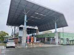 熊本に入ります。前日車中泊だったので、コインランドリーで洗濯する間に道の駅巡り。道の駅水辺プラザかもとです。