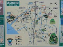 今回の旅行記は11時ごろ、地図右上の67番大興寺を出て高松高速をくぐり、JR予讃線を渡るところから始まります。地図左上の観音寺市琴弾公園にある68番神恵院・69番観音寺を目指します。右下に朝早くから向かった66番雲辺寺が載っています。