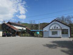 10:18 本日28km(トータル678km)  小沢駅に到着。