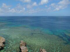 伊良部島 フナウサギバナタ(船を見送る岬という島方言) サンゴ礁の海が見えます。