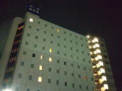 3泊目のホテル