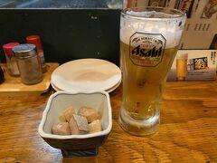早速、釧路の街で飲みます