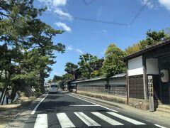 松江城へきました。  駐車場が分からなくて二周しちゃった。 時間が合ったらお堀の周りも観光したかったな~。