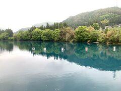 最終日スタート!!切り替えて行きましょう(´▽`) 本当はお天気が良ければ朝の奥四万湖へ行きたかったのですが。。 雨が少し降っていたので四万湖へ。。。