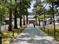 松島へ移動し、行ってみたかった「瑞巌寺」へ。国宝に指定されている寺院です。