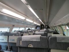 2階建てグリーン車の2階に乗って帰ります。  【横浜・ホテルニューグランド】おわり 4日後の再訪の記事に続きます。