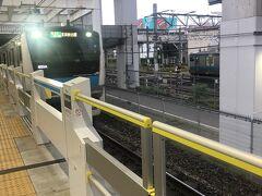 久しぶりに朝5時台の京浜東北線南行に乗車。