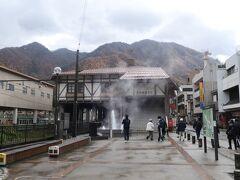駅まで来ると観光客が数名います。