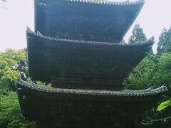 徳川家康が寄進した三重塔