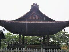 謡曲「三井寺」で知られる観月舞台