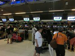 何やかやでバンコク国際空港に到着