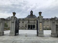 旧山形県庁。明治構築の立派な建物です。無料。 入ってみる価値はありますね。