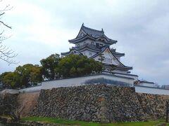 やって来たのは「岸和田城」。