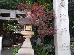室町時代の創建といわれる由緒ある神社です。 毎年9月に行われる祭礼の「大蛇お練り神事」で知られています。