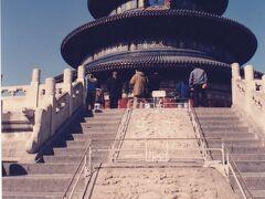 皇帝が天に祈祷を行った巨大な祭祀施設。 天壇は天気が良かったのもあったが、とてもきれいな建物であった。