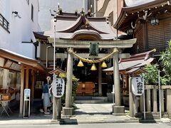 続いて、10分弱で小網神社へ。 小網神社は以前も訪れたことがあります(^-^) https://4travel.jp/travelogue/11549480