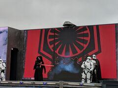 2020/1/26-27 ランド側でアナ雪2イベントが開かれている一方、ディズニー・スタジオ側ではスターウォーズのイベントが行われていました。
