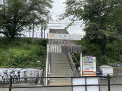 帰りは身延線に乗ります。 善光寺駅は無人駅でした。