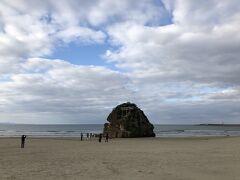 それでは観光開始 まずは「稲佐の浜」へ
