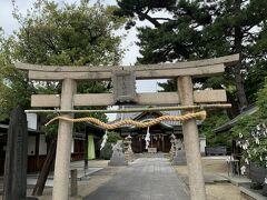 兵主神社。 割と広めの境内。