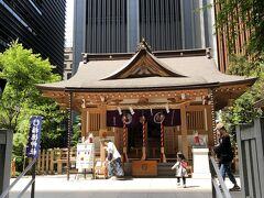 そして今回はランチもですが、此方の福徳神社に来たかったのです。
