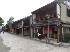 武蔵ヶ辻バス停からから広小路バス停まで移動。  広小路バス停からちょっと歩いたところに西茶屋街があります。