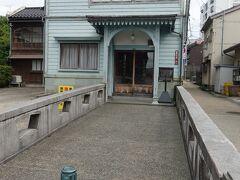 茶屋街の端にある西検番事務所  通常非公開らしいです。