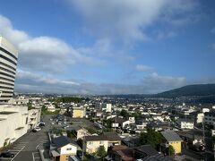2日目の朝を迎えました。 前日よりも天気は良さそうです。