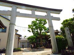 高木神社到着です。