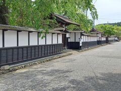 次は、ロケ地にもなった武家屋敷通り沿いにある施設です。