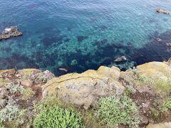 きたー!これこれ、この色。 これこそが北海道が誇る「積丹ブルー」。