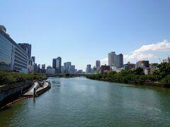 【天満橋】  ホント、良い天気ですよ(^o^)