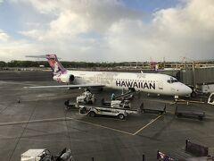 16:08  LIHUE > 16:45 HONOLULU(HA334) レンタカーを返却し、リフエ空港。 カウアイ島に別れを告げ、オアフ島・ホノルルへ向かう。 結局カウアイ島では一度も私たち以外の日本人を見なかったな~。