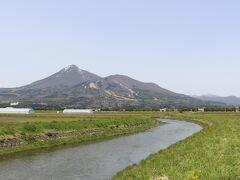 会津のシンボル磐梯山。 かっこいいです。