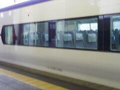 塩尻駅で乗り換えです。