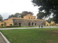 こちらが「端門」です。タンロン遺跡の中では一番の見どころだと思います!