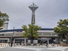 横浜スタジアム。